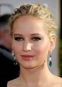 A suitably attired Jennifer Lawrence at the 68th Annual Golden Globes. ©iStock.com/Jennifer Lawrence