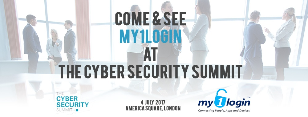 Mike Newman, My1Login CEO, Speaking at the Cyber Security Summit
