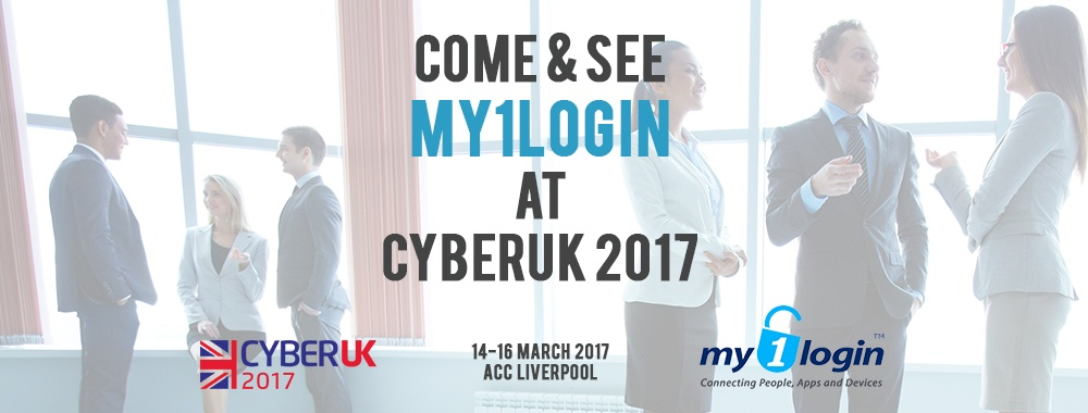 Come and See My1Login at CyberUK 2017